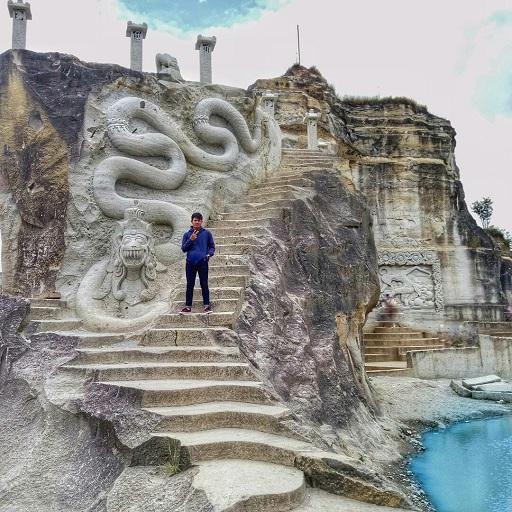 Maha Karya Indah di Obyek Wisata Tebing Breksi Jogja