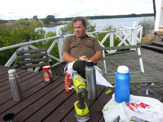 Ulf Samuelsson laddar upp för nästa projekt
