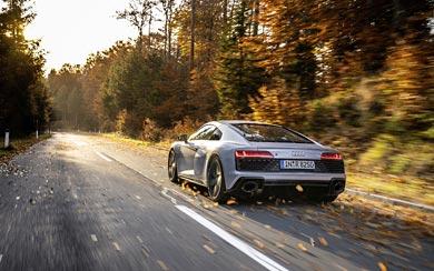 Download wallpaper 3840x2400 audi r8 v10 blue side view 4k ultra. 2020 Audi R8 V10 Rwd Wallpapers Wsupercars