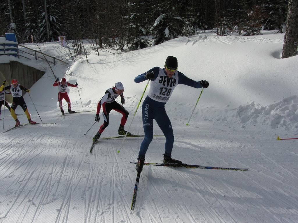 Skilanglauf Continental Cup in Zwiesel mit Andi Weishäupl