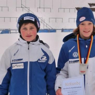 Aaron Uhrmann und Simon Gillhofer mit Top – Platzierungen beim Deutschen Schülercup