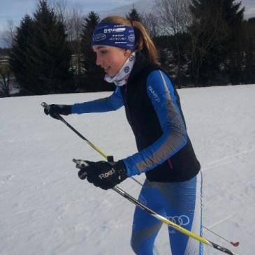 Sophie Lang beweist gute Form