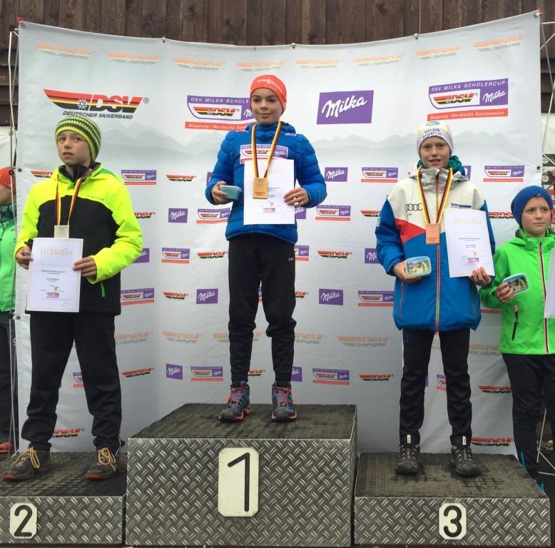 Erfolgreicher Auftakt zum DSC für Nachwuchsskispringer David Gruber