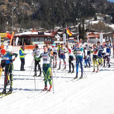 Rastbüchler beim Langlauffest bei den Deutschen Meisterschaften in Reit im Winkl