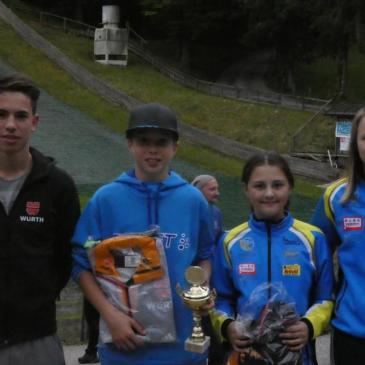 Rastbüchler beim Int. Sommerskispringen in Berchtesgaden