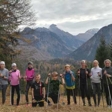 Rastbüchler Langlaufnachwuchs mit Skiverband Bayerwald in Oberstdorf
