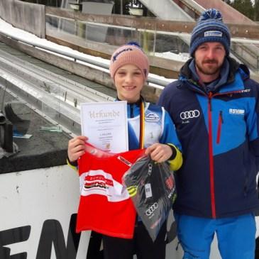 Bastian Schmid Gesamtsieger im DSV Schülercup in Johanngeorgenstadt