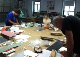 Full-Tilt Bookbinding: Class in session
