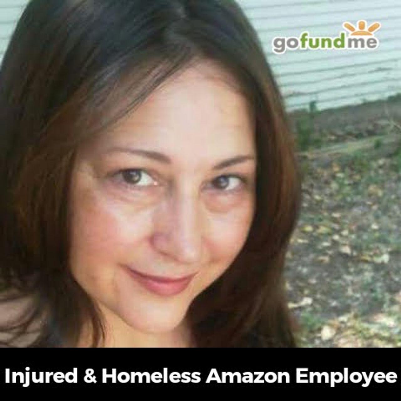 Injured homeless Amazon worker Tammy Edgar
