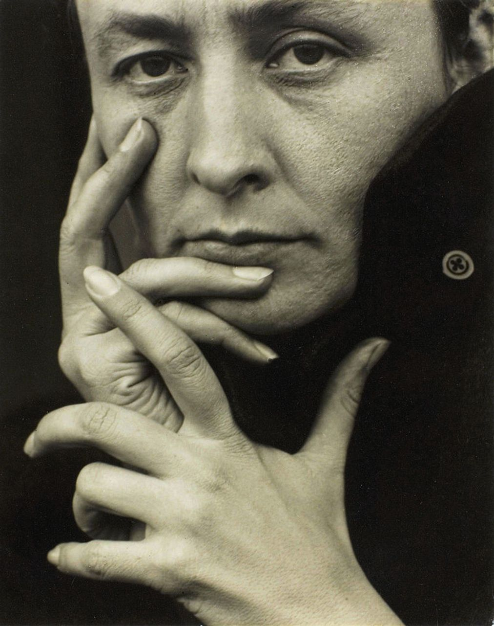 Georgia O'Keeffe, photographed by Alfred Stieglitz, 1918