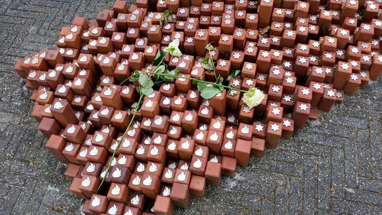 Memorial stones at Westerbork