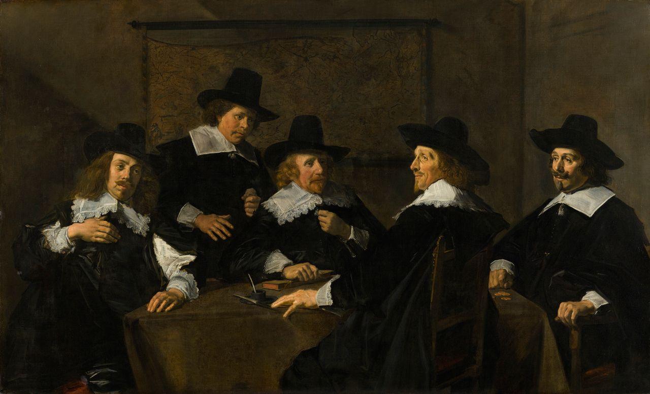 Regents of the St. Elizabeth Hospital in Haarlem, Frans Hals, 1641, Frans Hals Museum, Haarlem