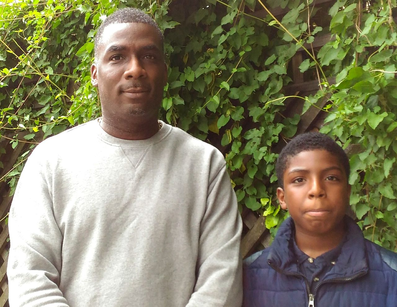 Gary and his son