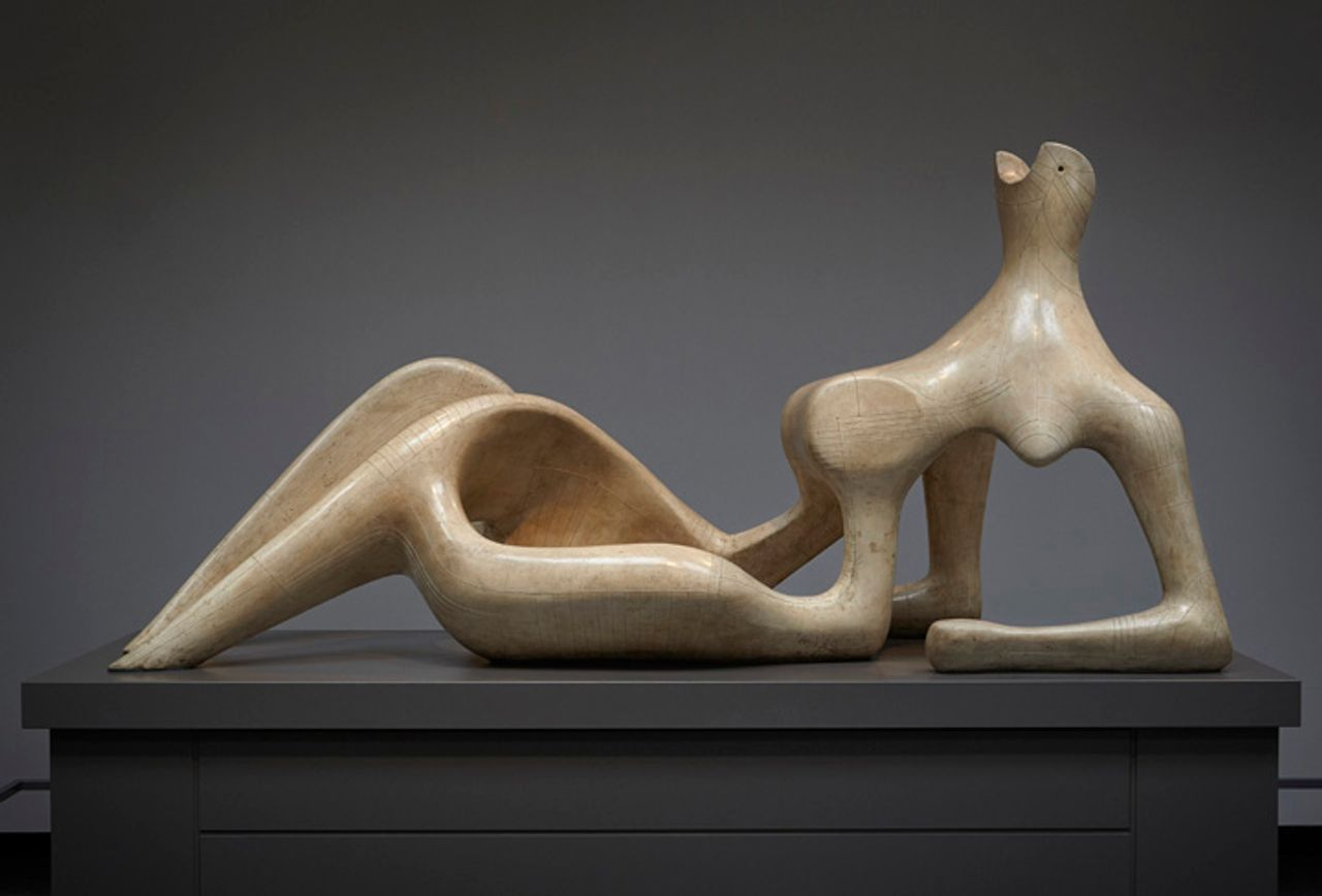 Henry Moore, Reclining Figure (1951) © The Henry Moore Foundation. All Rights Reserved, DACS / SODRAC (2013)