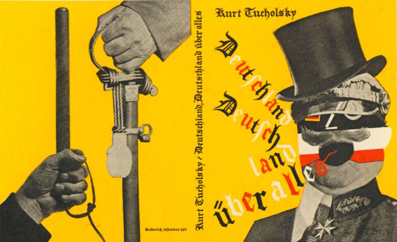 Book cover for Deutschland, Deutschland über alles, by Kurt Tucholsky, 1929