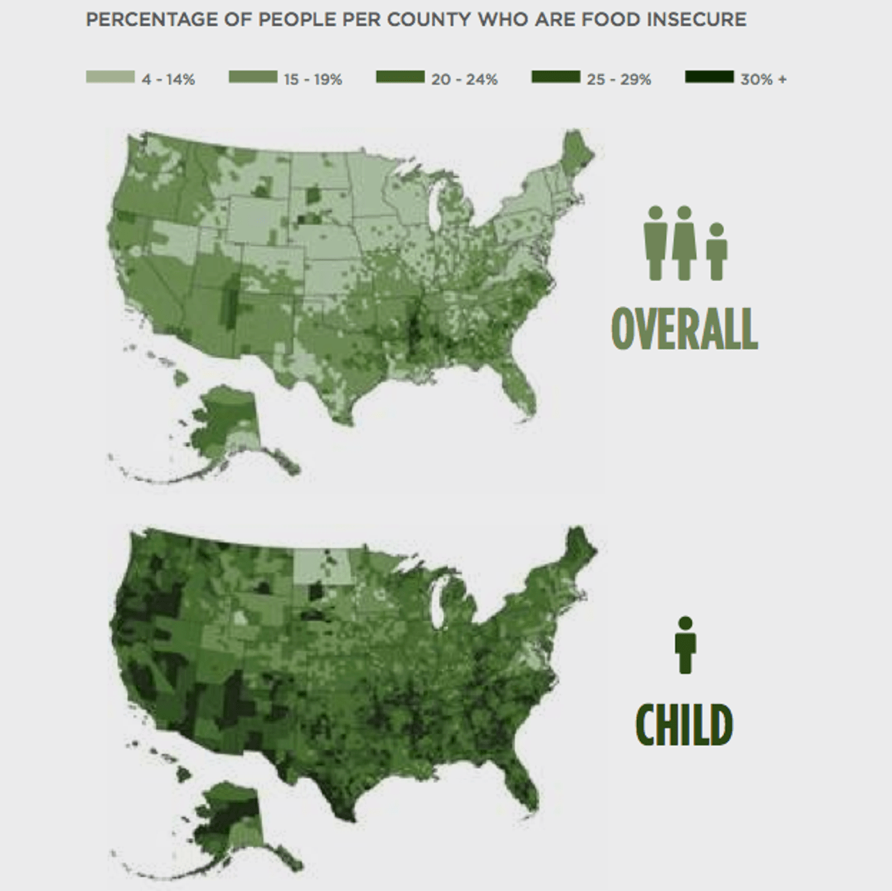 Food insecurity in the USA