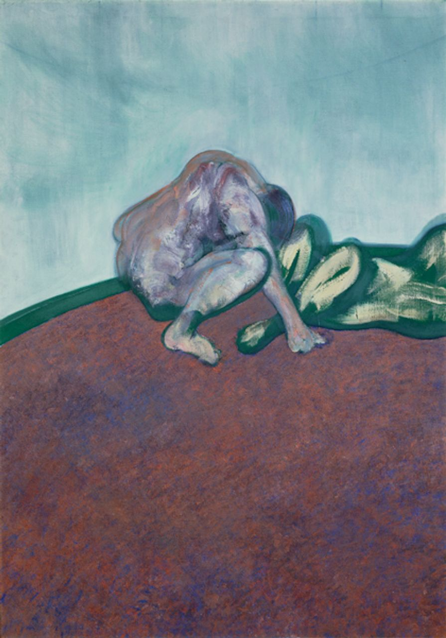 Francis Bacon, Two Figures in a Room (1959) © Estate of Francis Bacon / SODRAC (2013)