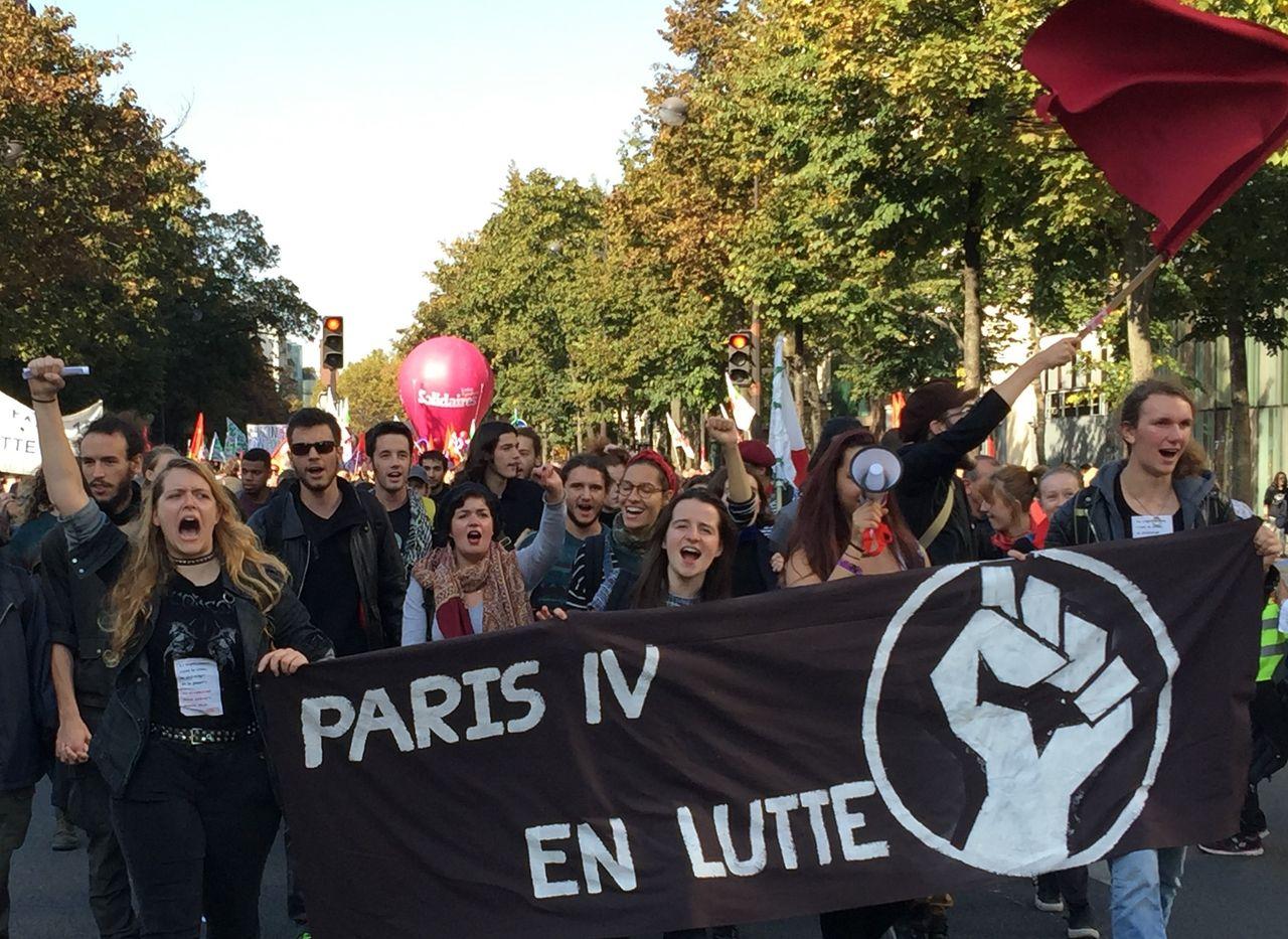 University of Paris - IV On Strike