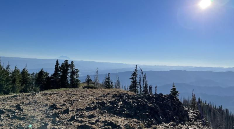 Lion Rock viewpoint taken on 2021-06-25 while geocaching.