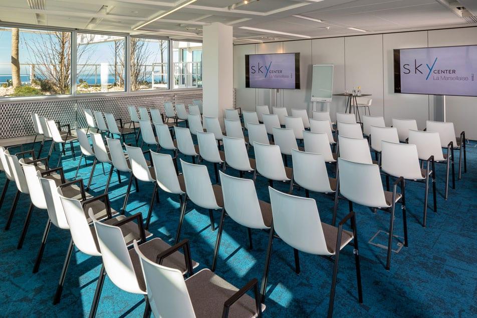 Louez une salle de réunion à Marseille dans la Tour la Marseillaise | Sky Center - World Trade Center Marseille