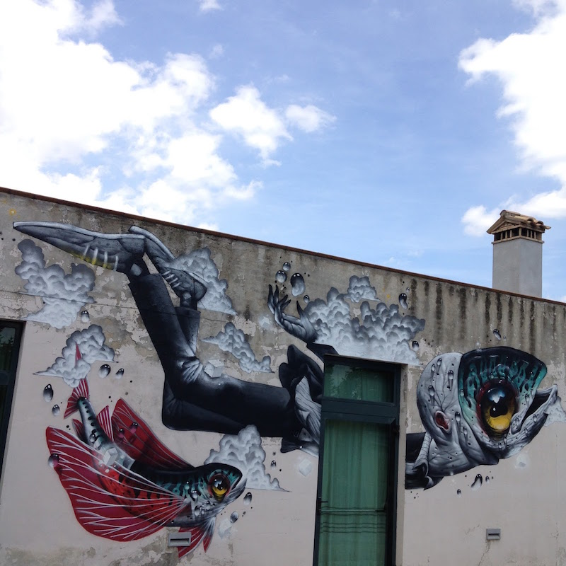 Veks van Hillik Mural in Italy