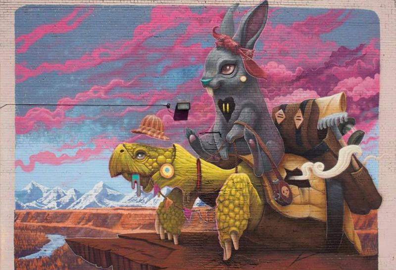 mural-tortoise-and-harriet-by-dulk-denver