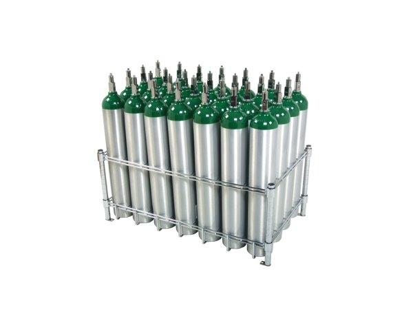 Oxygen Cylinder Rack Wt Farley