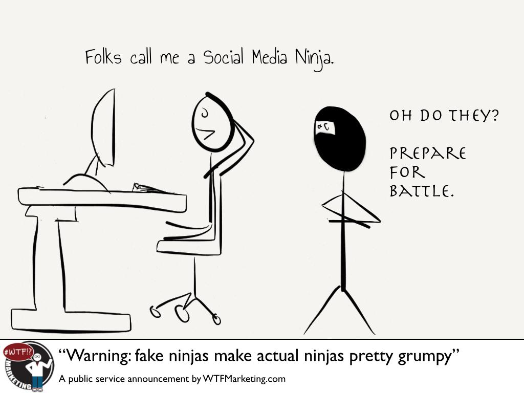 Fake Ninjas Make Real Ninjas Stabby