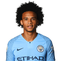 Picture of the 1.83 m (6 ft 0 in) tall German winger of Manchester City