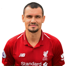 Picture of the 1.88 m (6 ft 2 in) tall Croatian central defender of Liverpool