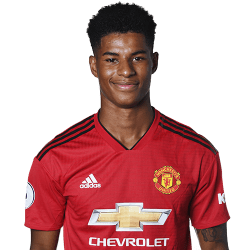 Picture of the 5 ft 11 in (1.80 m) tall English left winger of Manchester United