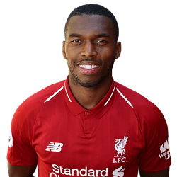 Picture of the 1.88 m (6 ft 2 in) tall English striker of Liverpool