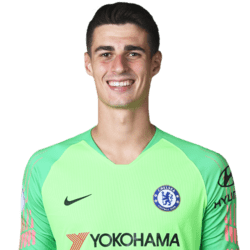 Picture of the 1.86 m (6 ft 1 in) tall Spanish goalkeeper of Chelsea