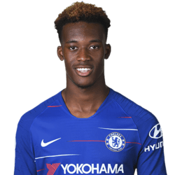Picture of the 1.77 m (5 ft 10 in) tall English winger of Chelsea