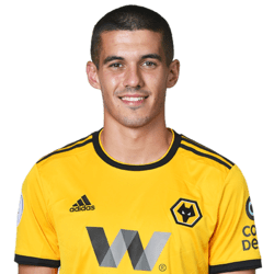 Picture of the 1.87 m (6 ft 2 in) tall English defender of Wolverhampton Wanderers