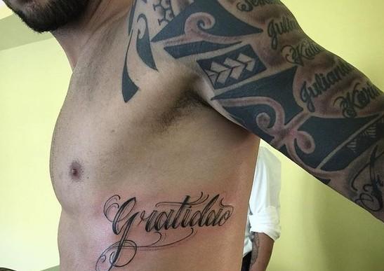 felipe anderson tattoo