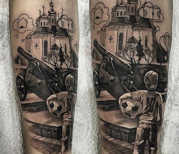 yarmolenko tattoo