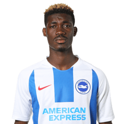 Picture of the 1.81 m (5 ft 11 in) tall Malian midfielder of Brighton & Hove Albion