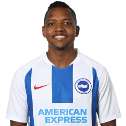 Picture of the 1.71 m (5 ft 7 in) tall Colombian left winger of Brighton & Hove Albion