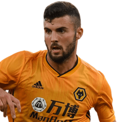 Picture of the 1.83 m (6 ft 0 in) tall Italian striker of Wolverhampton Wanderers