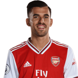 Picture of the 1.79 m (5 ft 10 in) tall Spanish central midfielder of Arsenal