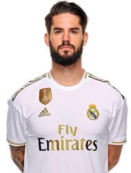 Picture of the 1.76 m (5 ft 9 in) tall Spanish attacking midfielder of Real Madrid