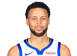 Picture of the 6 ft 3 in (1.91 m) tall American point guard of Golden State Warriors