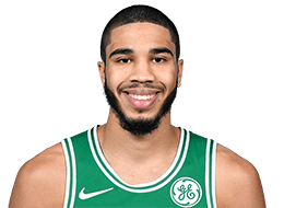 Picture of the 6 ft 8 in (2.03 m) tall American small forward of Boston Celtics