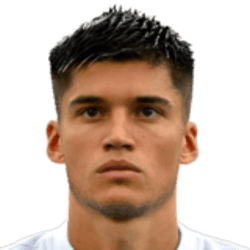 Picture of the 1.88 m (6 ft 2 in) tall Argentinian forward of S.S. Lazio