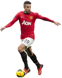 Picture of the 1.83 m (6 ft 0 in) tall Dutch striker of