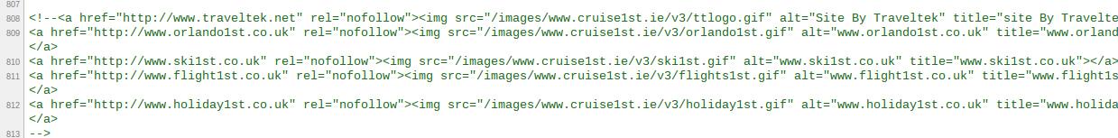 Cruise1st Ireland source code image links