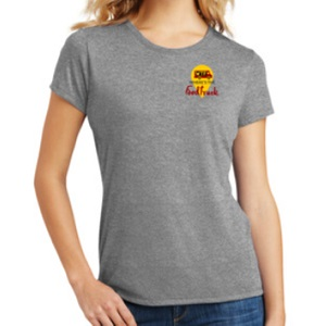womens grey tshirt front