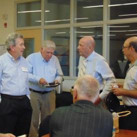 Chick Donnelly, Larry Krause, Bob Cox and Glenn Zobel