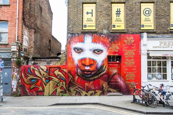 Dale Grimshaw mural, Spitalfields